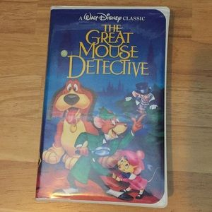The Great Mouse Detective Classic VHS